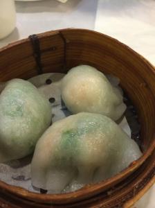 Shrimp and Watercress Dumpling