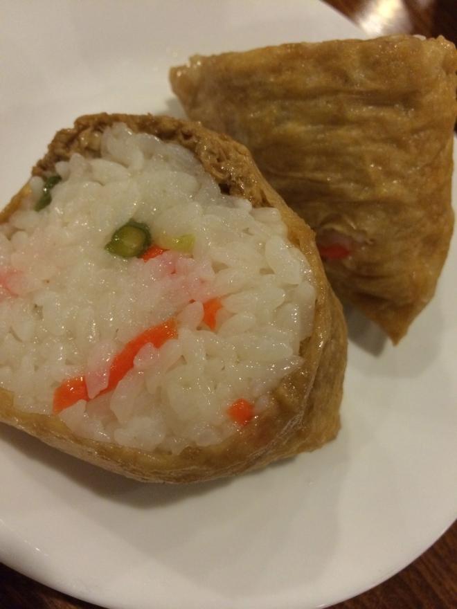 Cone sushi for Grandma