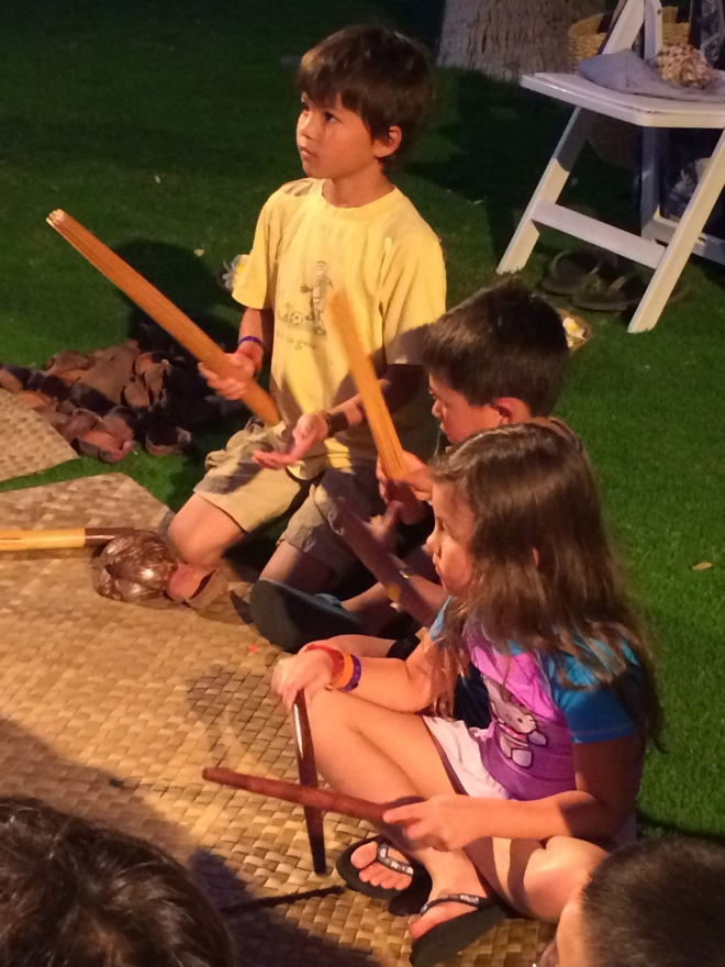 Learning about Hawaiian instruments