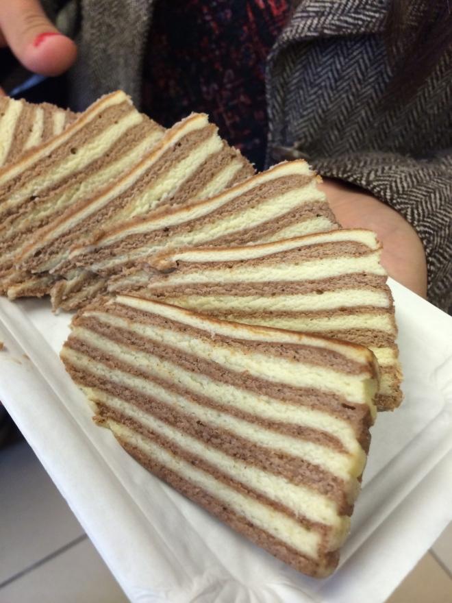 """Spekkoek or """"Fat Cake"""" :)"""
