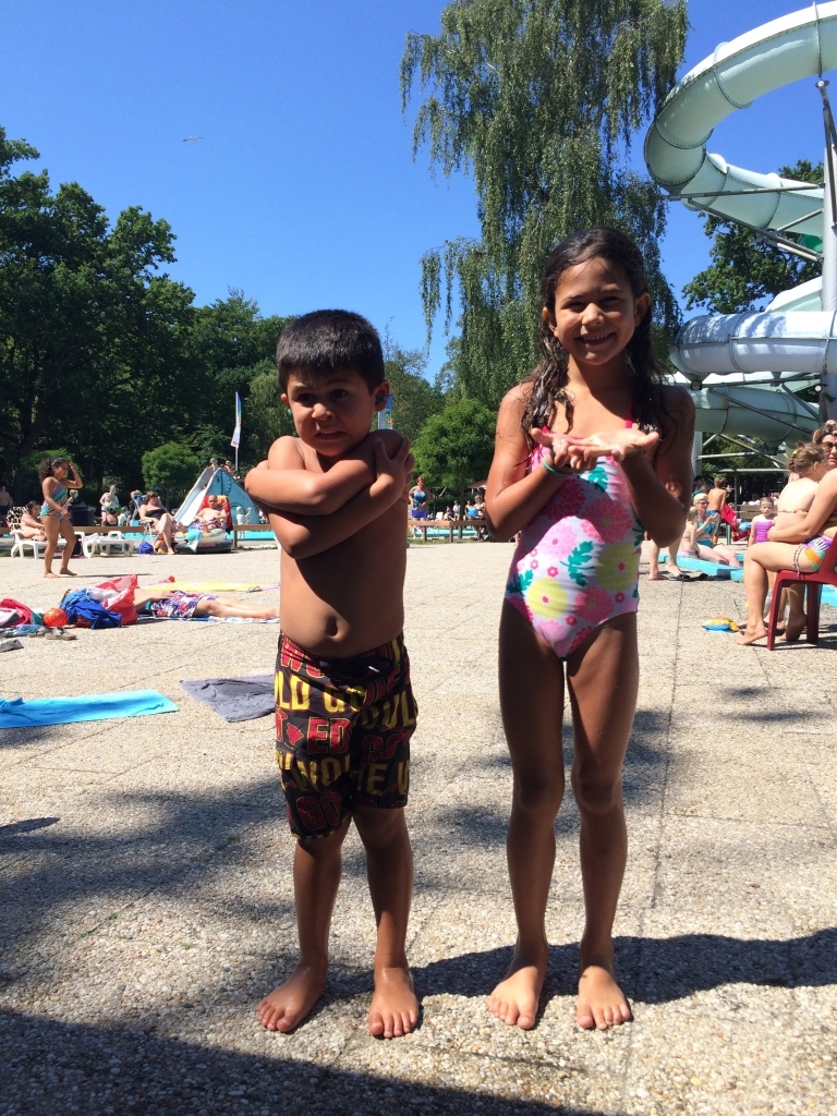 Our time at the Tiki Pool