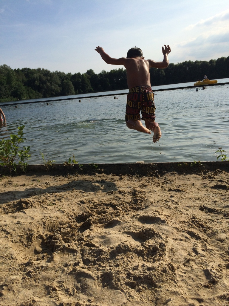 Jaf taking a dive!