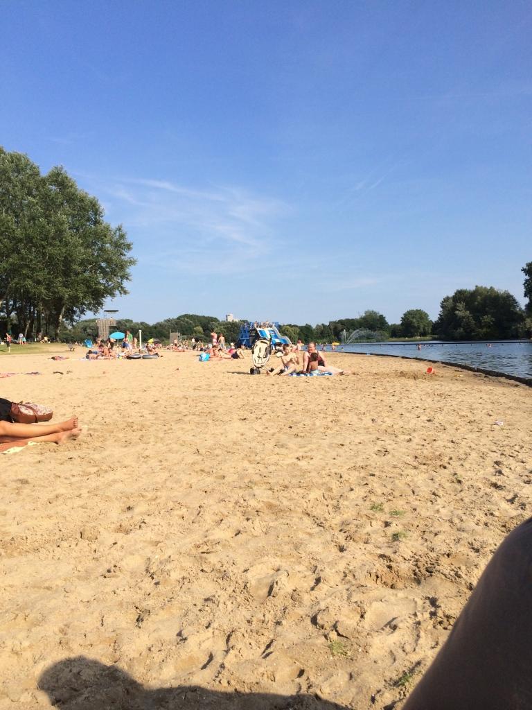 The lake at Blaarmeersen
