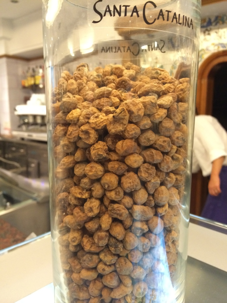 Tigers Nuts which is used to make the creamy, milky horchata!