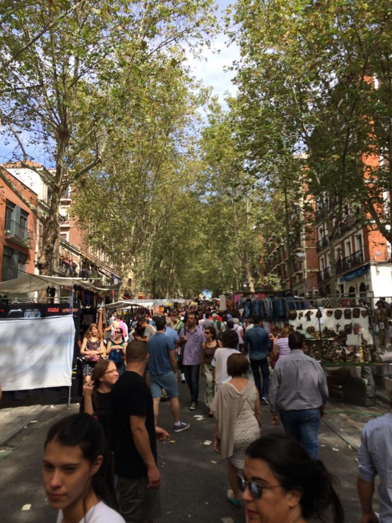 El Rastro Market, Madrid