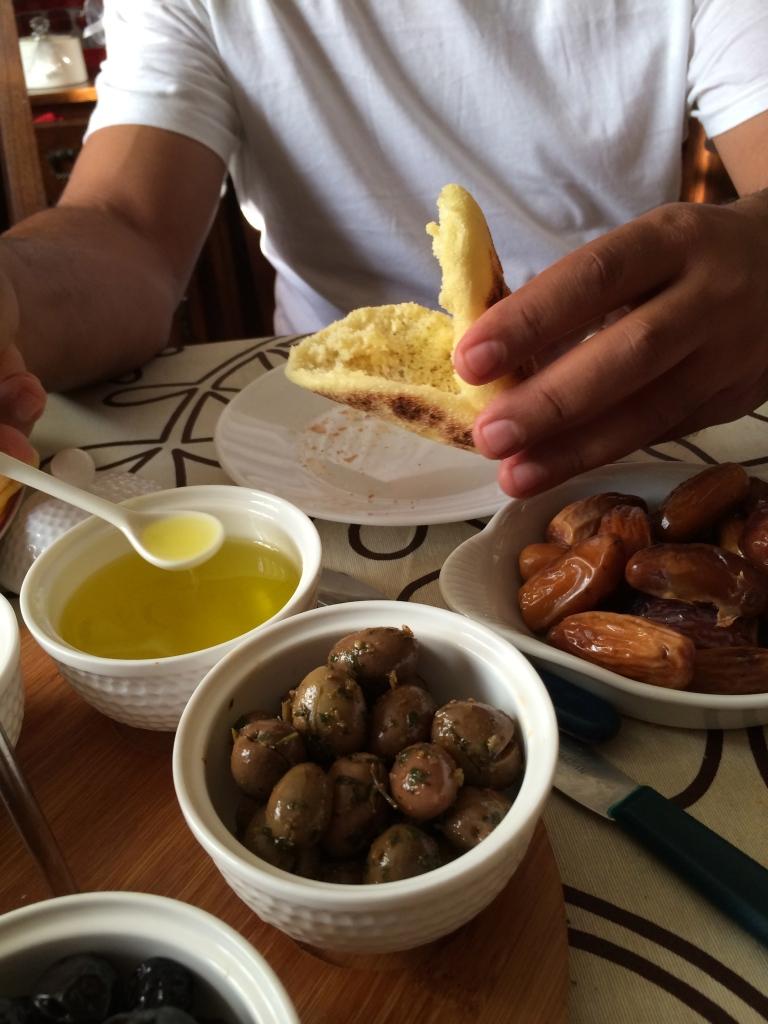 Olives even for breakfast!