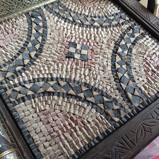 A mosaic table :)