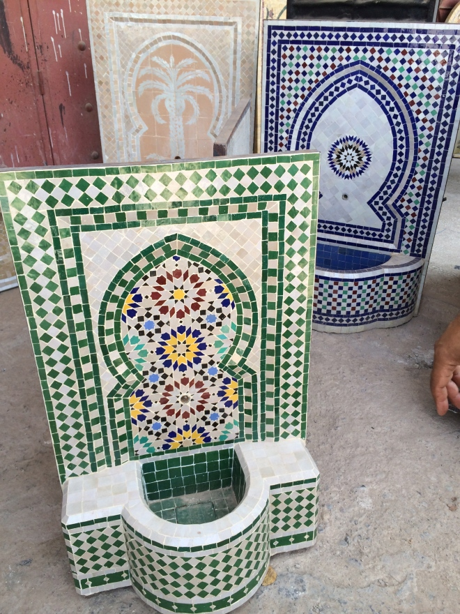 Mosaic Fountains being bought by a hotel owner