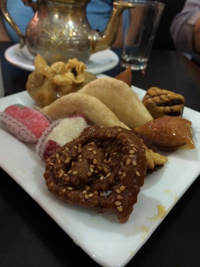 Desserts from Marrakech