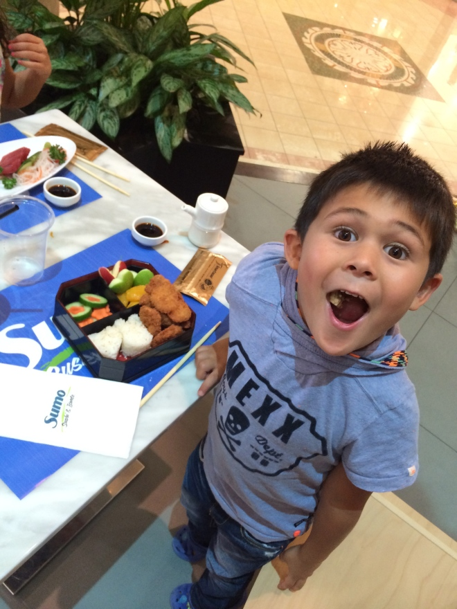 Check out their KID BENTOS and Kids Eat Free on Tuesdays!