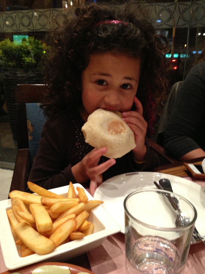 Fresh Pita bread :)