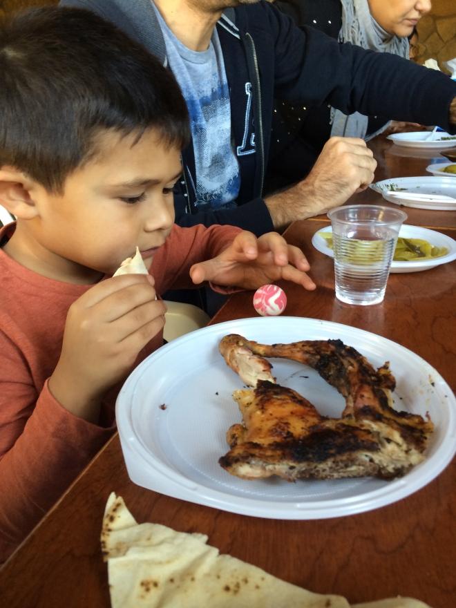 Grilled Chicken is popular bbq in Beirut!